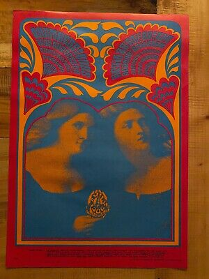 $70 • Buy Vintage Rock 'n Roll Concert Poster - Family Dog Productions