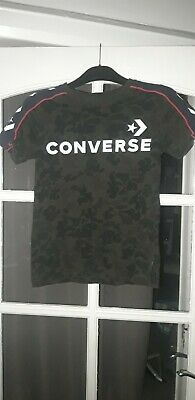 £0.99 • Buy Boys Converse Camouflage Tshirt Age 8-10 Yrs,good Condition.
