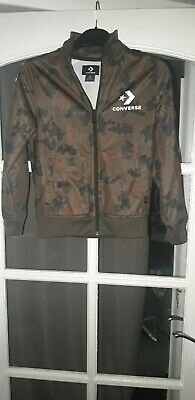 £3.95 • Buy Boys Converse Camouflage Zip Top,age 8-10yrs Worn In Good Condition.
