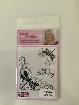 £1.50 • Buy Stamps By Chloe. Limited Edition. New. Butterfly And Happy Birthday Messag