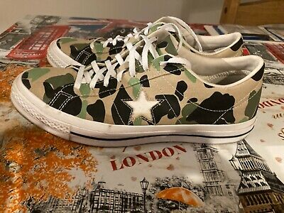 £10 • Buy Mens Converse Trainers - Camouflage