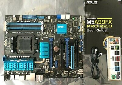 £89.95 • Buy ASUS M5A99X PRO R2.0 SOCKET AM3 / AM3+ MOTHERBOARD -SUPPORTS FX-9590 CPUs