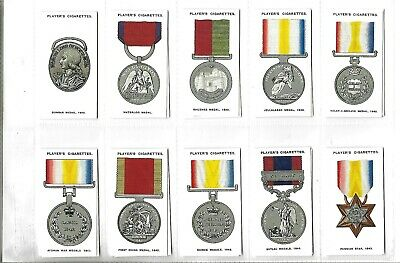 £5.99 • Buy PLAYERS, CIGARETTE CARD REPRINTS.  Set Of  50,DECORATIONS & MEDALS,(in Sleeves)