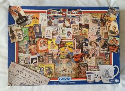£2 • Buy 1000 Piece Jigsaw Puzzle 'Second World War Victory In Europe'