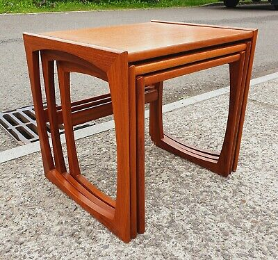 £95 • Buy Vintage G Plan Quadrille Teak Nest Of Tables    Delivery Available