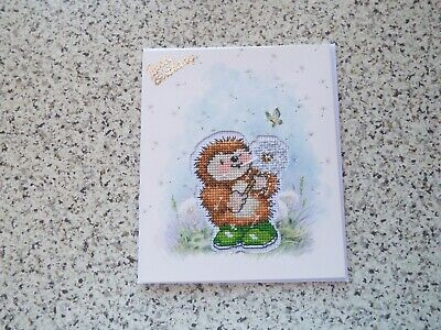 £2.50 • Buy Completed Cross Stitch Card, Birthday