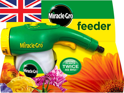 £16.36 • Buy Miracle-Gro Feeder Filled With All Purpose Soluble Plant Food, Green, Clear