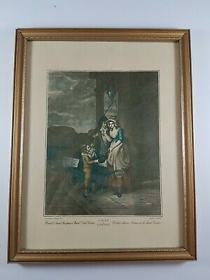 £10 • Buy Cries Of London Print Picture - Fruit Sellers In Frame
