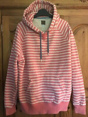 £21 • Buy Joules Womens Top/jumper, Size 18, Peach Striped, Paige
