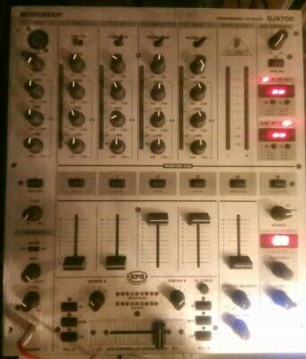 £10 • Buy Behringer DJX700 4-channel DJ Mixer Spares Or Repairs