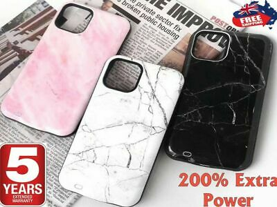 AU38.85 • Buy External Power Charger Battery Case Charging Cover For IPhone 12 11 Pro Max 8 X