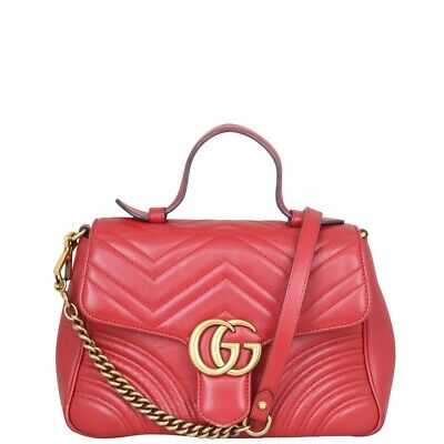 AU1660 • Buy Authentic Gucci GG Marmont Small Top Handle Bag