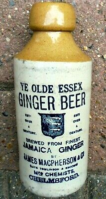 £5.99 • Buy Rare Chelmsford In Essex Pictorial Transfer Ginger Beer.