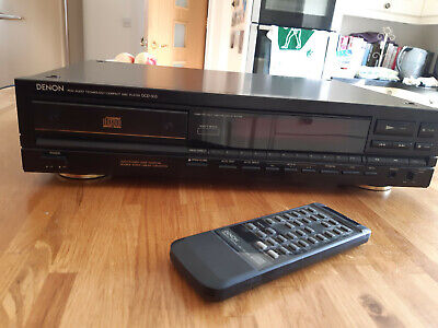 £9.50 • Buy DENON Precision Hi-Fi Compact Disc Player (DCD-910)  Fully Working, With Remote