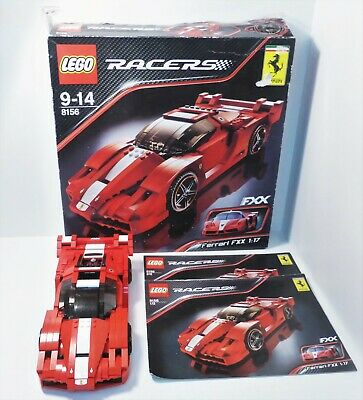 £70 • Buy Lego Racers - 8156 - Ferrari FXX 1:17 - Complete With Box & Manuals
