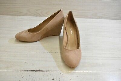 £21.94 • Buy CL By Laundry Lindsi Wedge Pumps, Women's Size 11 M, Dark Nude MSRP $49.99