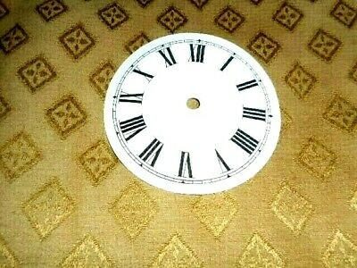 £2.05 • Buy  Round PAPER (CARD) Clock Dial / Face - 2  MINUTE TRACK - Roman - GLOSS WHITE