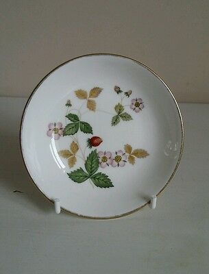 £4.99 • Buy Wedgwood  Wild Strawberry  Butter/Preserve Dish