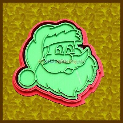 AU12.95 • Buy Father Christmas Santa Cookie Cutter & Imprint Stamp - For Cookies& Fondant