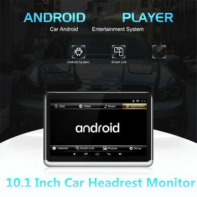 £178.68 • Buy Car TV Headrest Monitor Touch Screen 10.1 Inch Android 1080P Tablet Movie Video