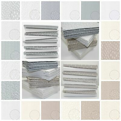£6 • Buy Paris Tone On Tone - Quiting Backing Patchwork Cotton Fabric Dot Stars