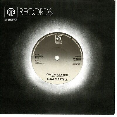 £1 • Buy Lena Martell - One Day At A Time (7  Single 1977) VG+ U.K. #1's