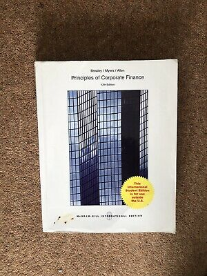 £7 • Buy ISE Principles Of Corporate Finance - 12th Edition - Brealey/Myers/Allen