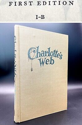 £171.84 • Buy Charlotte's Web - Stated  FIRST EDITION I-B  - 1st Printing - E. B. White 1952
