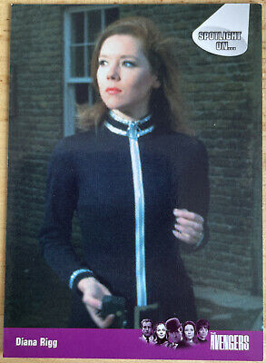 £0.99 • Buy Strictly Ink - The Avengers Trading Card - #77 Diana Rigg