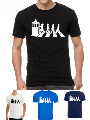 £8.99 • Buy Dr Who Doctor Abbey Road Tardis Street Time Lord Fan T-shirt