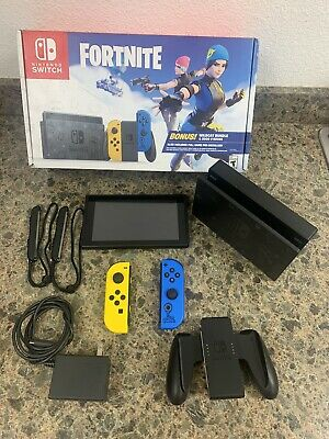 $319 • Buy Nintendo Switch Fortnite Wildcat Bundle *Console ONLY *NO Code/V Bucks Included