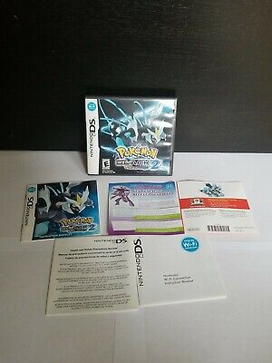 $38.99 • Buy Nintendo DS Pokemon Black 2 Version Case/Manual Only Authentic NO GAME Free Ship