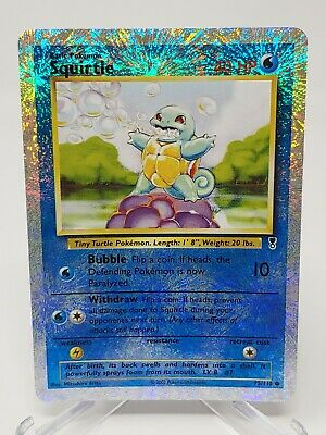 $299.99 • Buy Pokemon Squirtle 95/110 Reverse Holo Legendary Collection