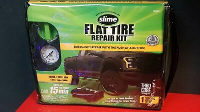 AU86.55 • Buy Slime 50139 Flat Tire Puncture Emergency Kit, Includes Sealant And Tyre Inflator