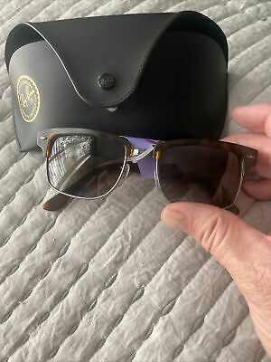 AU96.60 • Buy RAY-BAN RB4190 POLARIZED Sunglasses Tortoise/Brown Gradient 878/M2 Authentic New