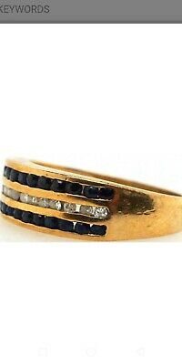 AU598.76 • Buy Sapphire & Diamond 9ct Solid Gold Ring + Valuation Certificate $2638.  September