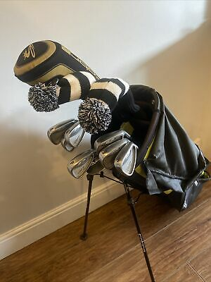 AU677.12 • Buy Full Set Of Mens Cobra And Taylormade Golf Clubs