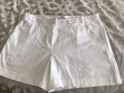 £2.50 • Buy White Shorts Size 14 In Good Quality Cotton