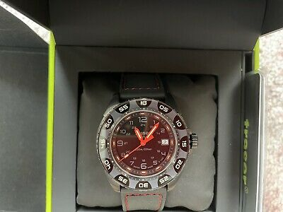 £310 • Buy Traser H3 P49 Special Pro Red Alert T100 Tactical Watch Military Wristwatch
