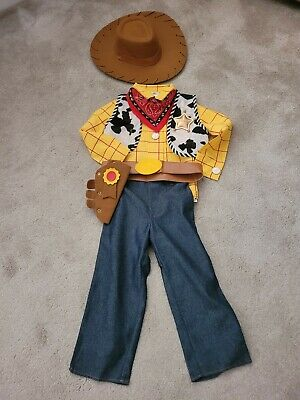 £10 • Buy Disney Woody Costume  Size 104cm - Approx Age 4