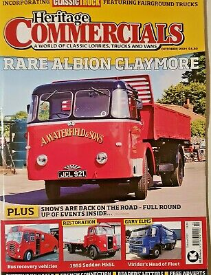£9.99 • Buy Heritage Commercials Mag Oct 2021 = Rare Albion Claymore