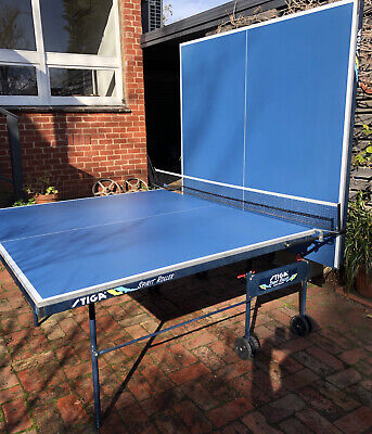 AU375 • Buy Table Tennis Table STIGA Spirit Roller- Used Rarely And Kept Covered.