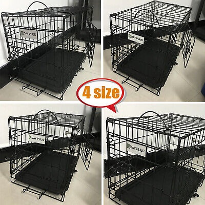 £10.49 • Buy Dayplus Dog Cage Puppy Training Crate Pet Carrier - Small Medium Large Xl Cages