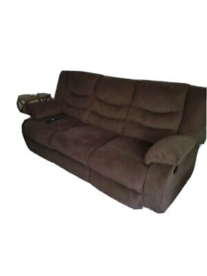 $1100 • Buy Ashley Furniture Sofa And Loveseat Living Room Set - Chocolate (2 Piece)