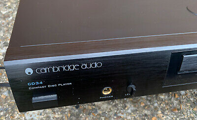 £49.99 • Buy Cambridge Audio CD34 Compact Disc CD Player Fully Working Vintage Hi Fi