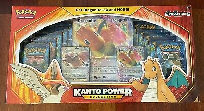 $250 • Buy Pokemon TCG XY Evolutions Kanto Power Collection Dragonite EX (Factory Sealed)