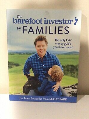 AU19.99 • Buy FREE POST The Barefoot Investor For Families By Scott Pape
