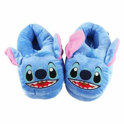 AU32.99 • Buy Cartoon Slippers Lilo And Stitch Plush Toy Disney Monster Fur Novelty Bedroom