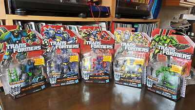 £115 • Buy Transformers BRUTICUS Fall Of Cybertron Full Combiner Set COMBATICONS MOSC MISB