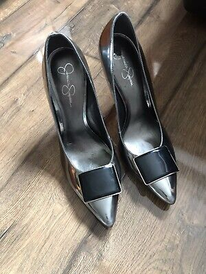 £5 • Buy Jessica Simpson Green Black Shoes Size 40